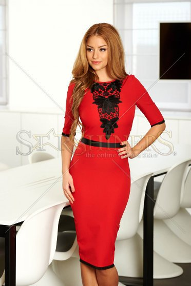 Rochie LaDonna Defined Style Red