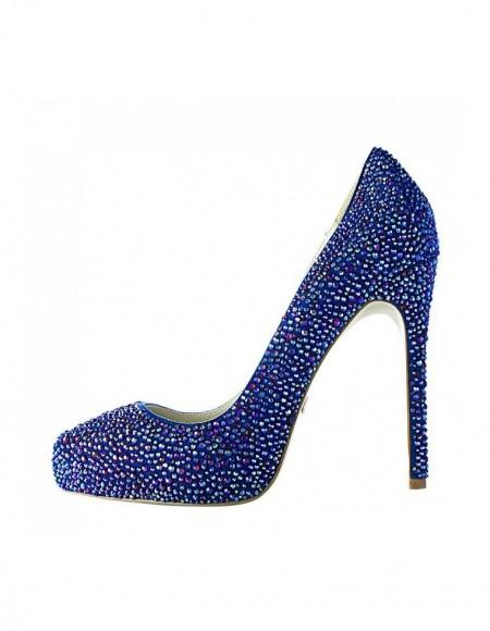Pantofi Boujis albastru