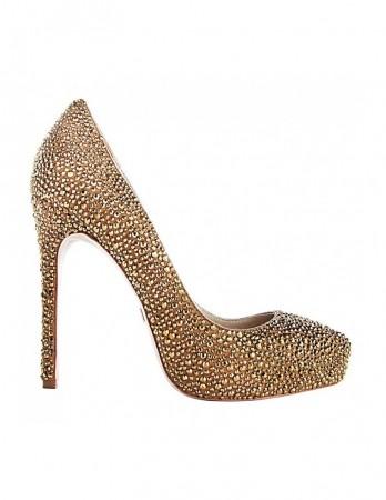 Pantofi Boujis auriu