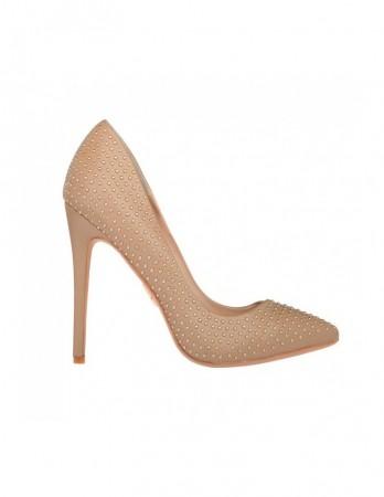 Pantofi stiletto Noor bej