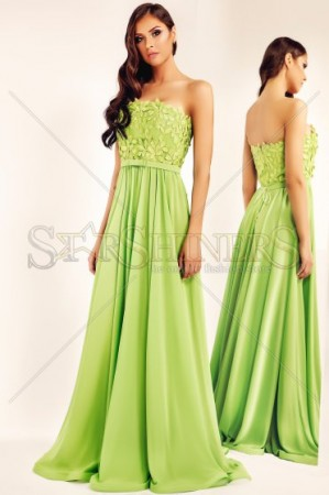 Rochie Ana Radu Lovely Enchanter Green