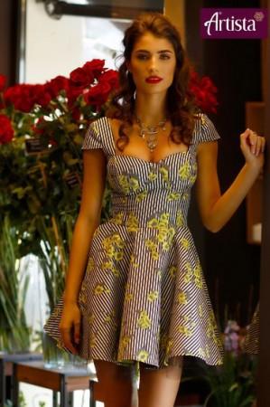 Rochie Artista Dance Queen Yellow