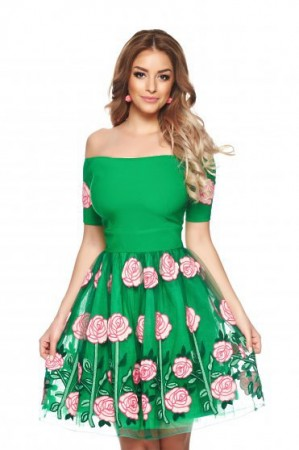 Rochie Artista Lounge Time Green