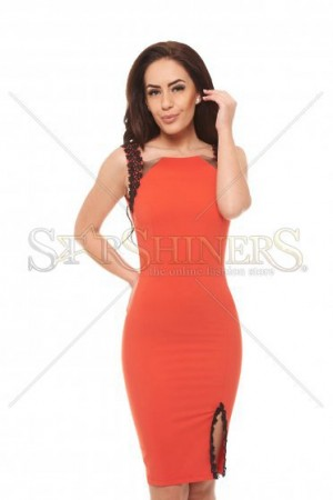 Rochie Artista Safety Feeling Coral
