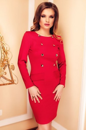 Rochie Ideal Spring Red