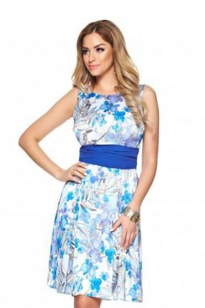 Rochie LaDonna Flower Delicacy Blue
