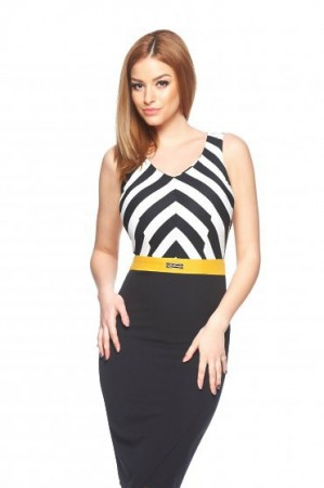 Rochie LaDonna Perfectly Shape Yellow