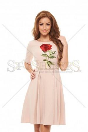 Rochie LaDonna Soft Rose Cream
