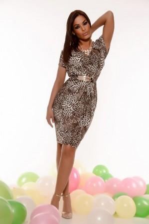 Rochie MissQ Contessa Brown