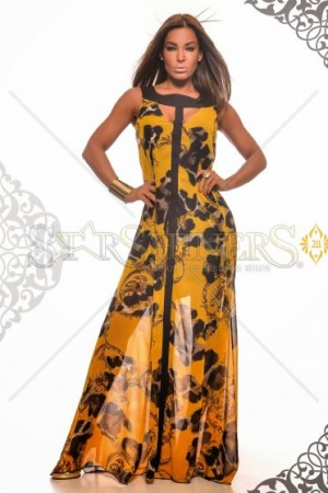 Rochie MissQ Dashing Allure Yellow