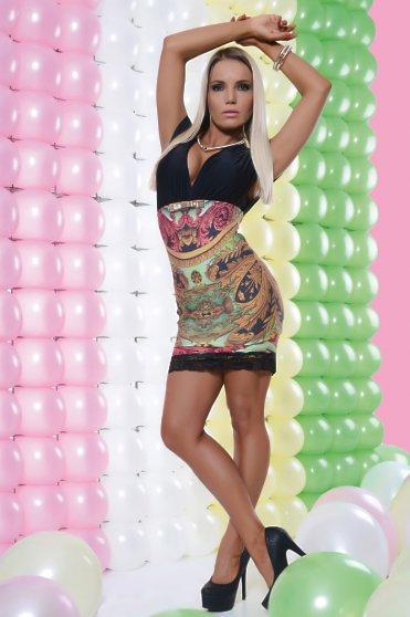 Rochie MissQ Festive Black