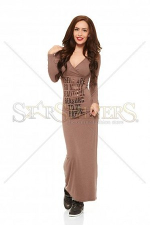 Rochie MissQ Happy Reasons DarkBrown