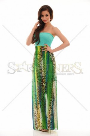 Rochie MissQ Neon Flashes Turquoise