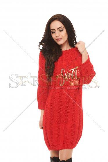 Rochie MissQ Sweet Warmth Red