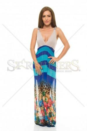 Rochie MissQ Upper Shelter Blue