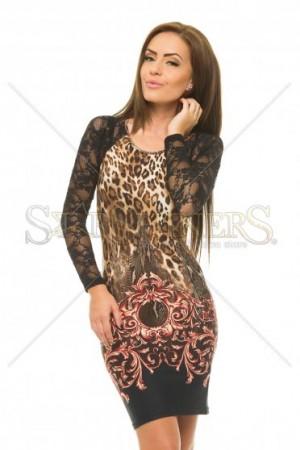 Rochie MissQ Wild Lace Red