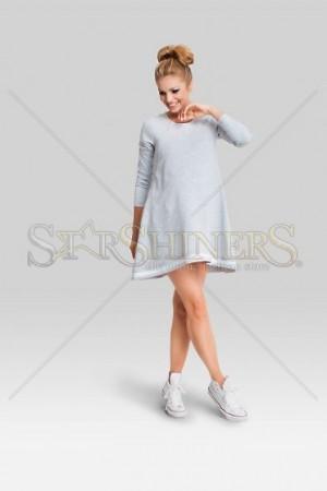 Rochie Pentru Gravide Admirable Grey