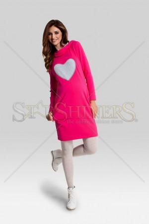 Rochie Pentru Gravide Lovely Pink