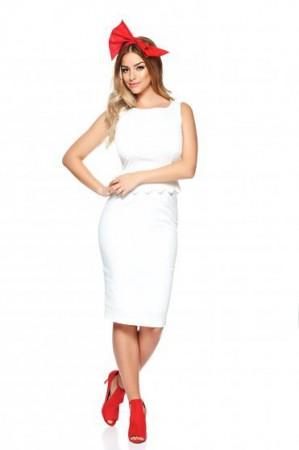 Rochie PrettyGirl Amazing Look White