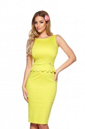 Rochie PrettyGirl Amazing Look Yellow