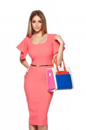 Rochie PrettyGirl Ambition Coral