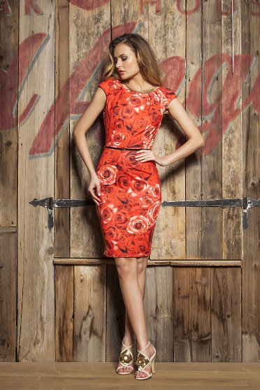 Rochie PrettyGirl Blossom Lady Red
