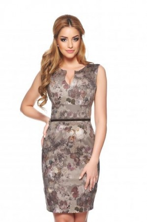 Rochie PrettyGirl Delightfull Lady DarkBrown