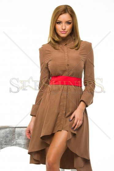 Rochie PrettyGirl Different Brown