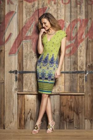 Rochie PrettyGirl Figure Fit Green