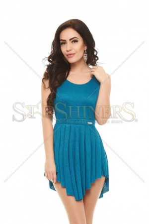 Rochie PrettyGirl Flashy Turquoise