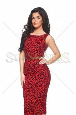 Rochie PrettyGirl Fusioned Red