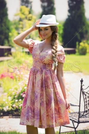 Rochie PrettyGirl Gardener Purple