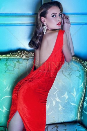 Rochie PrettyGirl Glam Life Red