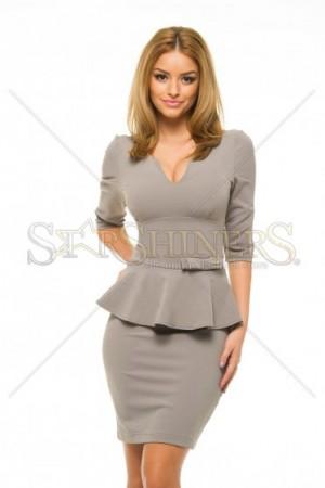 Rochie PrettyGirl Influential Grey