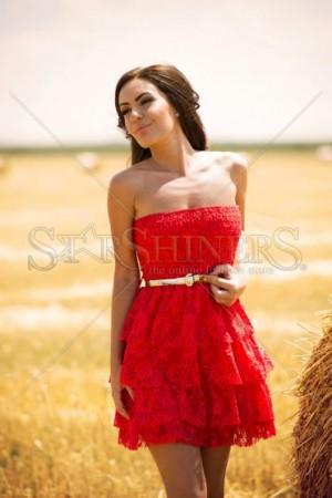 Rochie PrettyGirl Insurgent Red