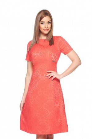 Rochie PrettyGirl Motivation Coral
