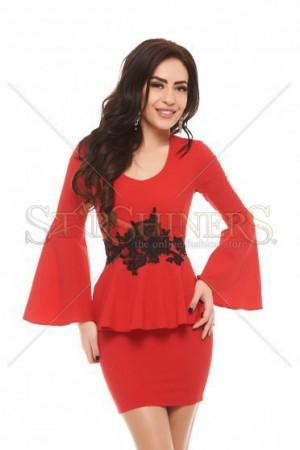 Rochie PrettyGirl Profusion Red
