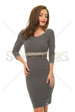 Rochie PrettyGirl Provided DarkGrey