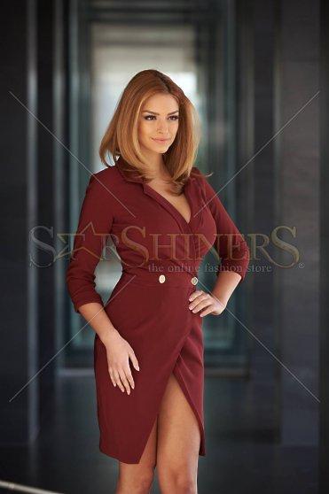 Rochie PrettyGirl Straight Burgundy