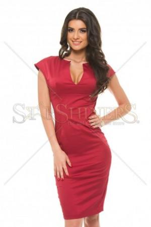 Rochie PrettyGirl Stylish Desire Burgundy
