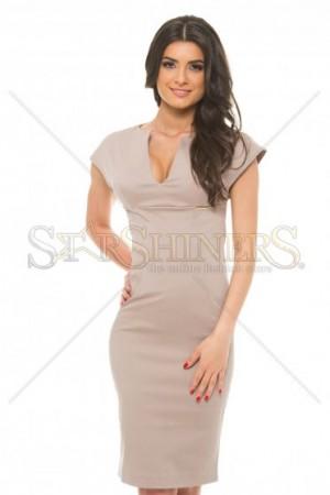 Rochie PrettyGirl Stylish Desire Cream