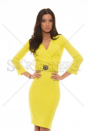 Rochie PrettyGirl Workaholic Yellow