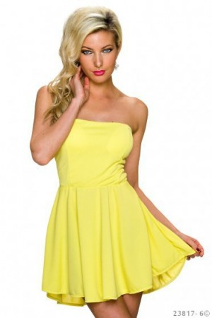 Rochie Special Treatment Yellow