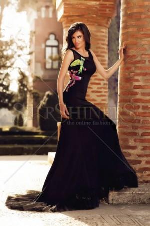 Rochie StarShinerS Brodata Angel Black