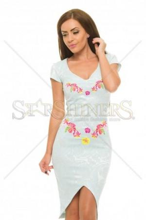 Rochie StarShinerS Brodata Bonita Mint