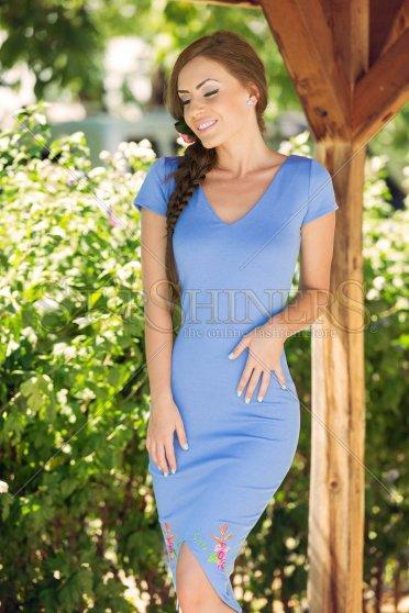 Rochie StarShinerS Brodata Lagoon Blue