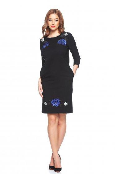 Rochie StarShinerS Brodata Mystic Line Glamour Black