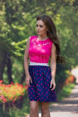 Rochie StarShinerS Brodata Sensuality Pink