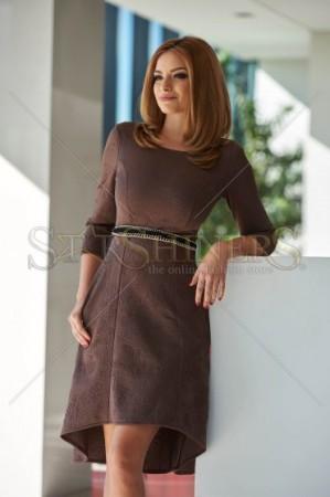 Rochie StarShinerS Classic Brown