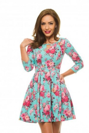 Rochie StarShinerS Colorful Mint